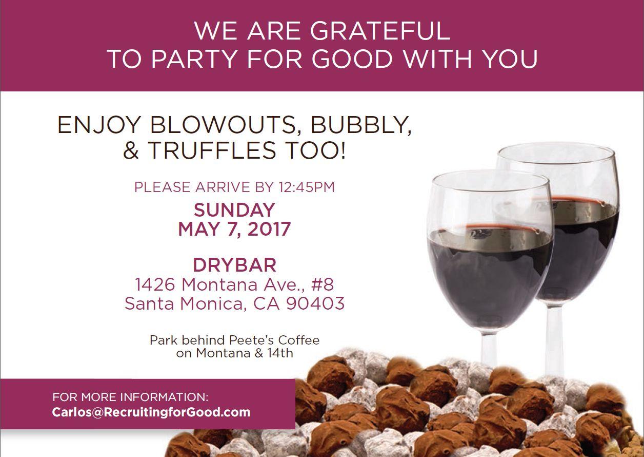 Blowout Bubbly & Truffles