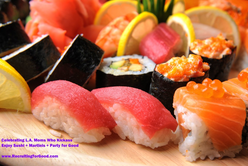 sushi party for good