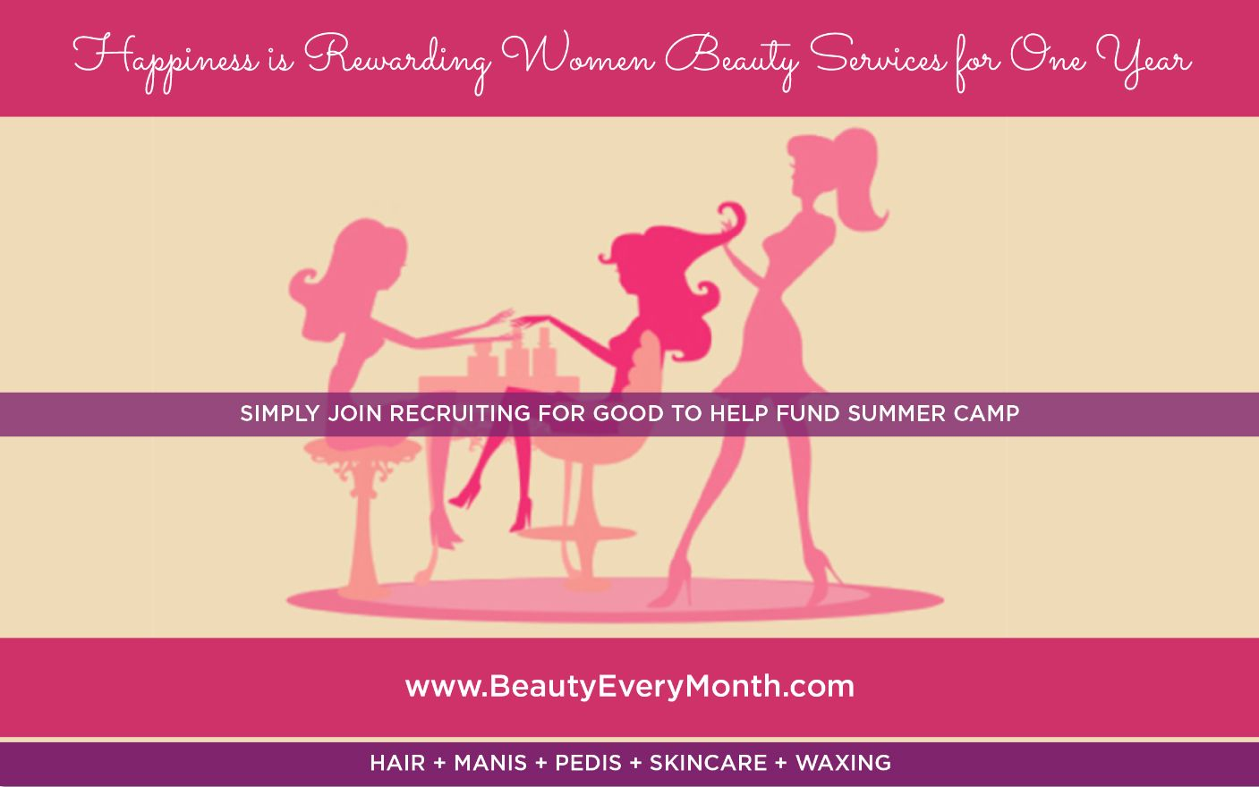Beauty Every Month Reward